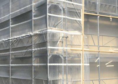 Désamiantage confinement façades